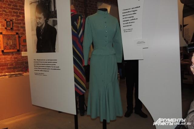 Это платье актриса сшила для поступления во ВГИК.
