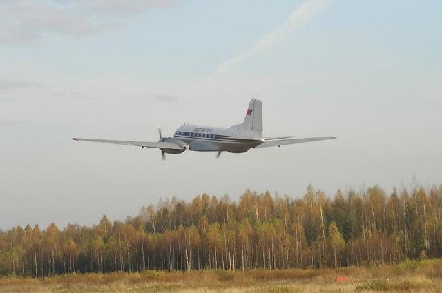 Самолёт Поддубного - единственный летающий в мире Ил-14.
