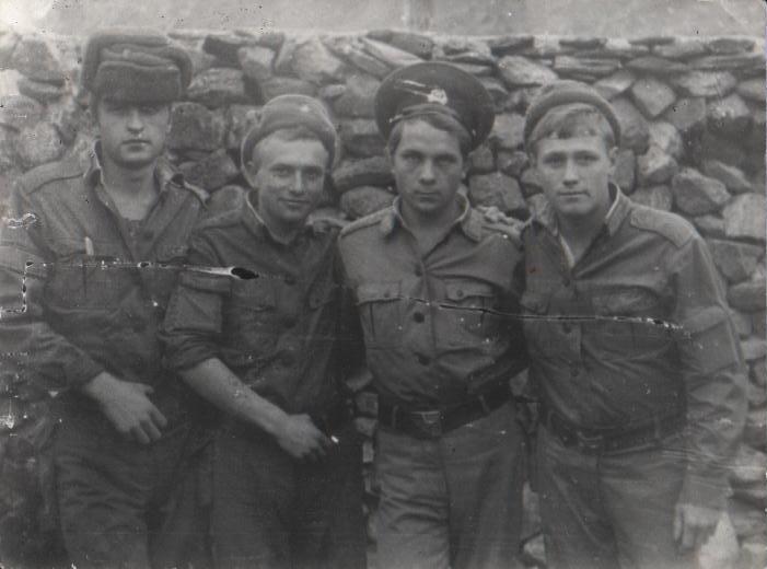 15 декабря 1982 г. Калаи-Хумб, граница с Афганистаном .