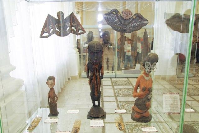 папуасы выставка