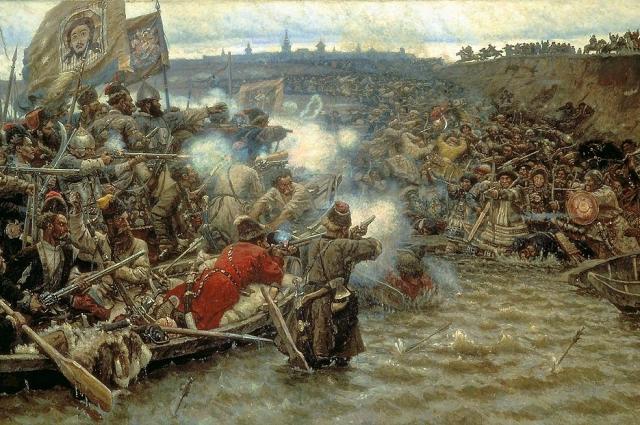 За свою историю Красноярск перенес несколько осад. Была даже идея оставить город...