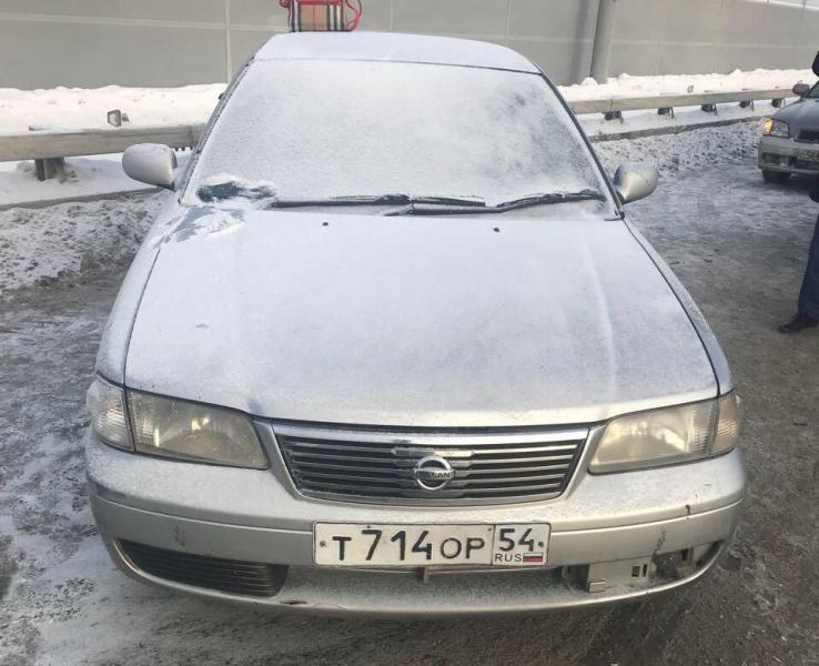 машина в которой был труп на Бугринском мосту