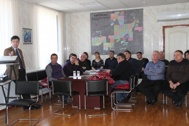 На семинар пригласили всех кочубеевских аграриев.