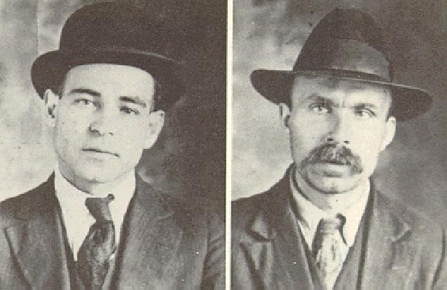 Ванцетти и Сакко, 1920 г.