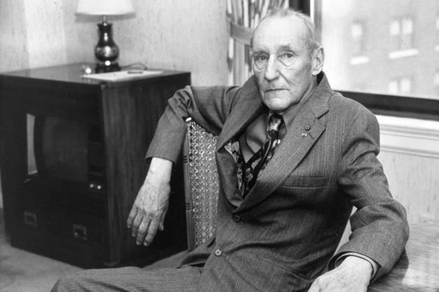 Писатель Уильям Берроуз