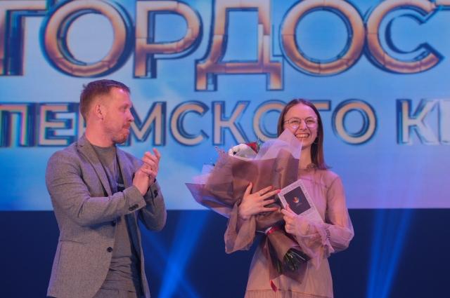 16-летняя Валерия Лукьяненко из Перми даже и Подумать не могла, что будет стоять на этой сцене, получая такую награду в номинации «Общественная деятельность».