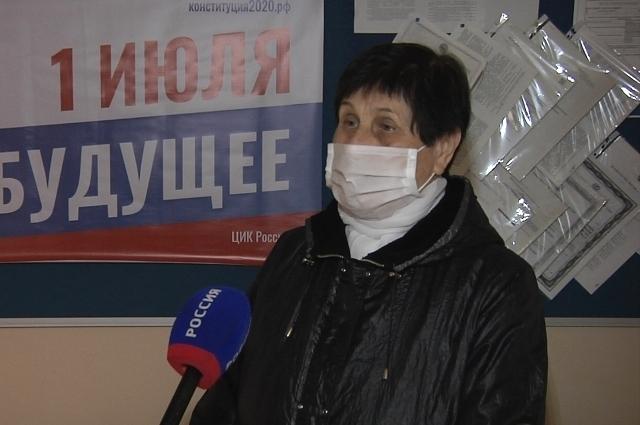 Зоя Козлова всегда ходит на выборы.