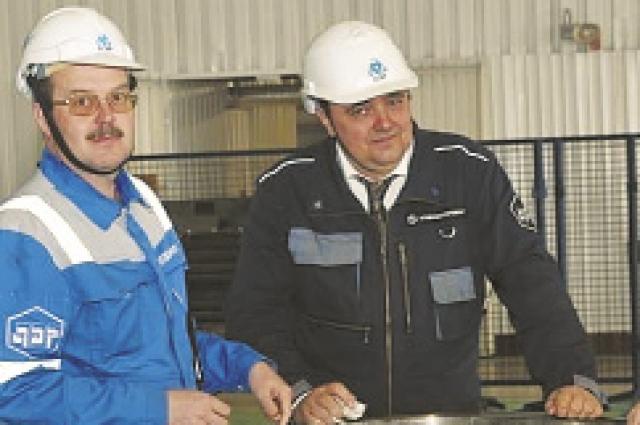 Юрий Кудлай - слева
