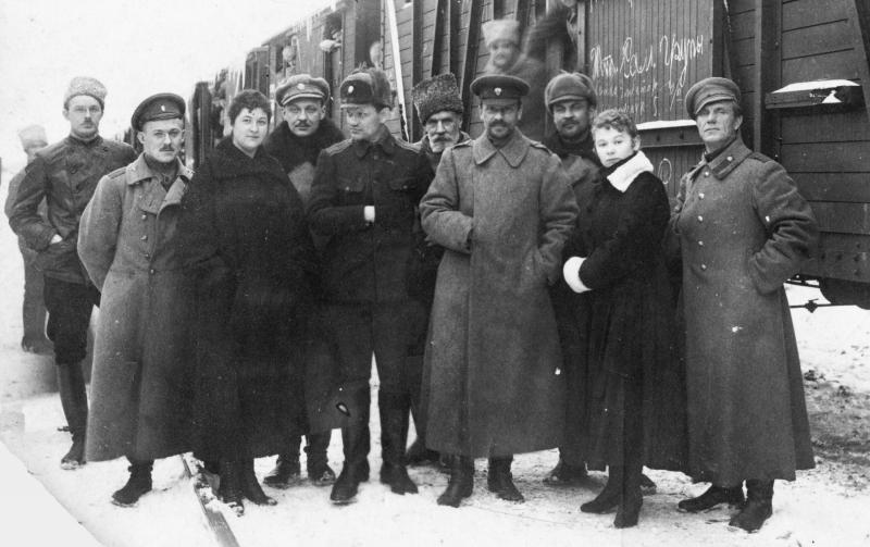 Генерал Владимир Оскарович Каппель и его штаб, ноябрь 1919 года