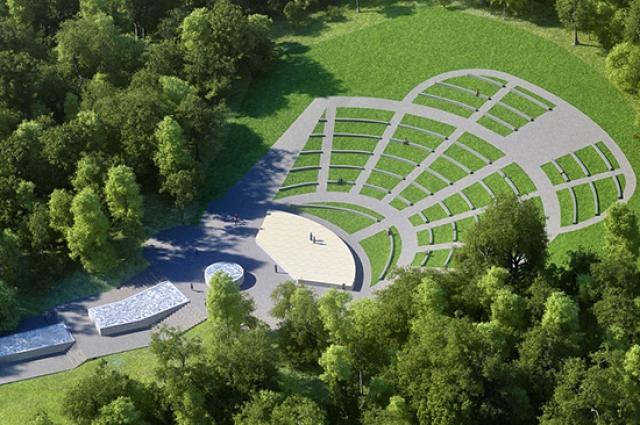 Проект Зеленого театра в Центральном парке