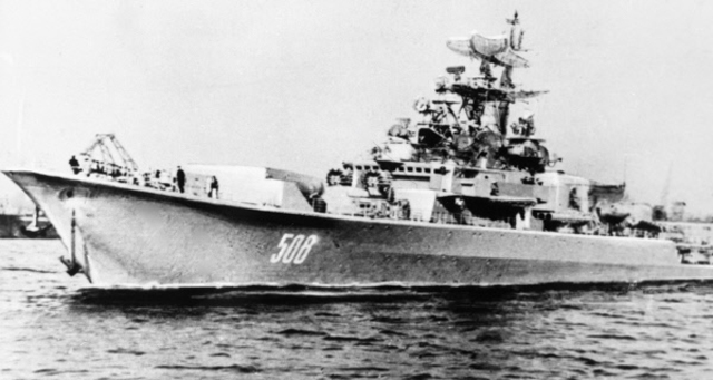 Большой противолодочный корабль «Сторожевой». В1975г. капитан 3-го ранга Валерий Саблин поднял накорабле мятеж.