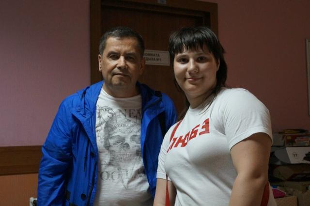 Светлана Кривенок с Николаем Расторгуевым.