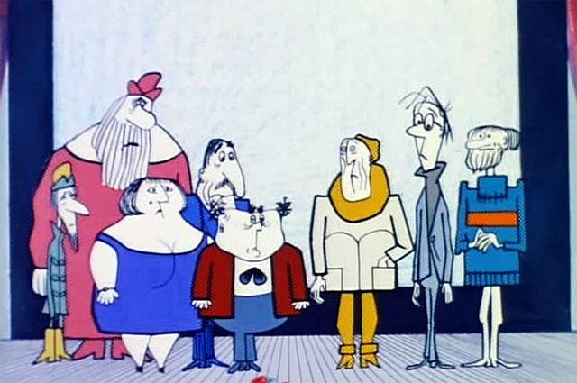 Кадр из мультфильма «Фильм, фильм, фильм».