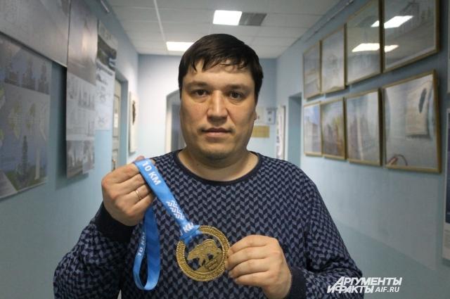 Автор медали - Рустам Исмагилов