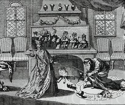Нострадамус и Екатерина Медичи.