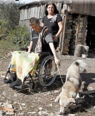 Юля, Никита и пес Туман