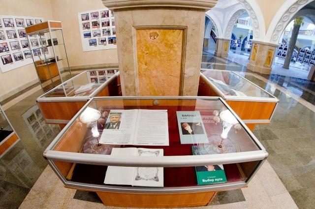 В музее более тысячи экспонатов.
