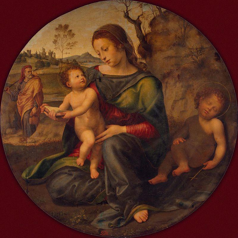 Джулиано Буджардини. Святое семейство.