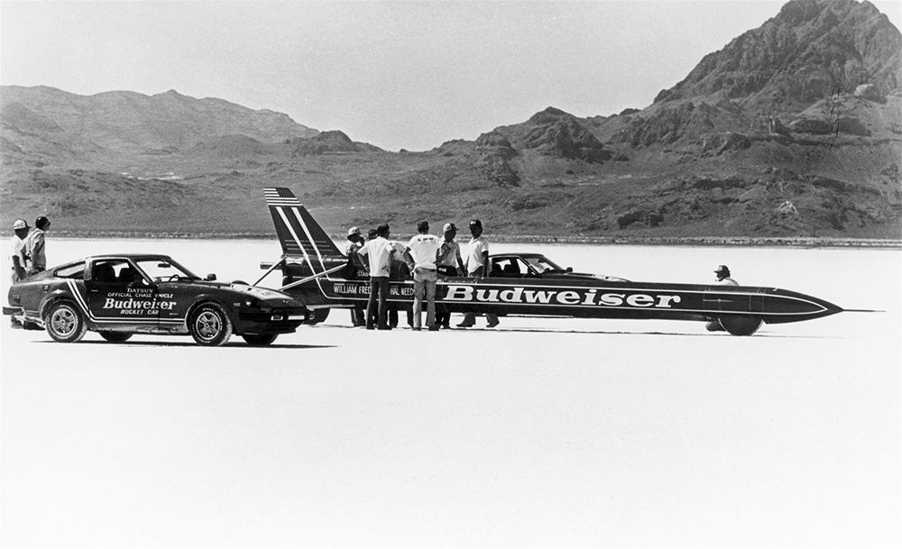 Budweiser Rocket и Стэн Баррет. 1979 г.