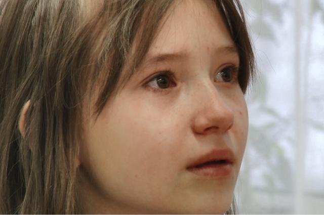 Междуреченская школьница расплакалась на уроке, когда слушала историю Тани Савичевой.