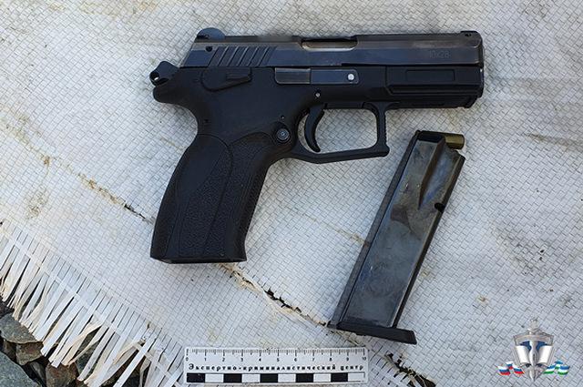 В пострадавшего стреляли из травматического пистолета