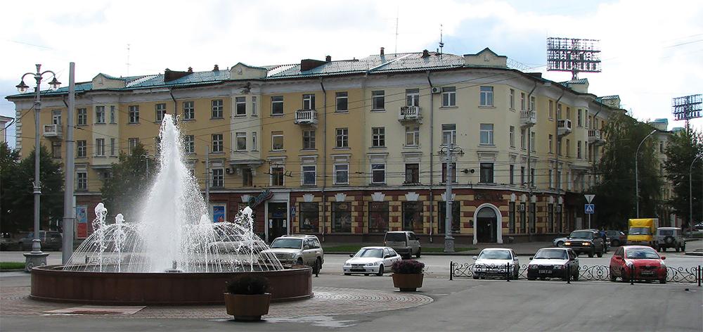 Кемерово. Советский проспект.