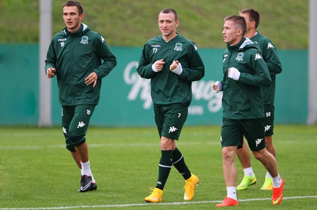 Тренировка ФК Краснодар