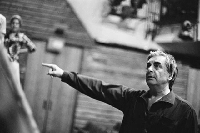 Театральный режиссер, создатель и художественный руководитель Театра на Таганке Юрий Петрович Любимов. 1965 год