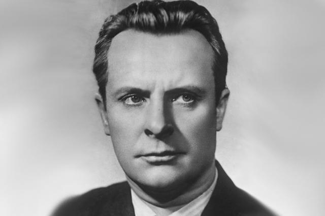 Евгений Самойлов, 1955 год.