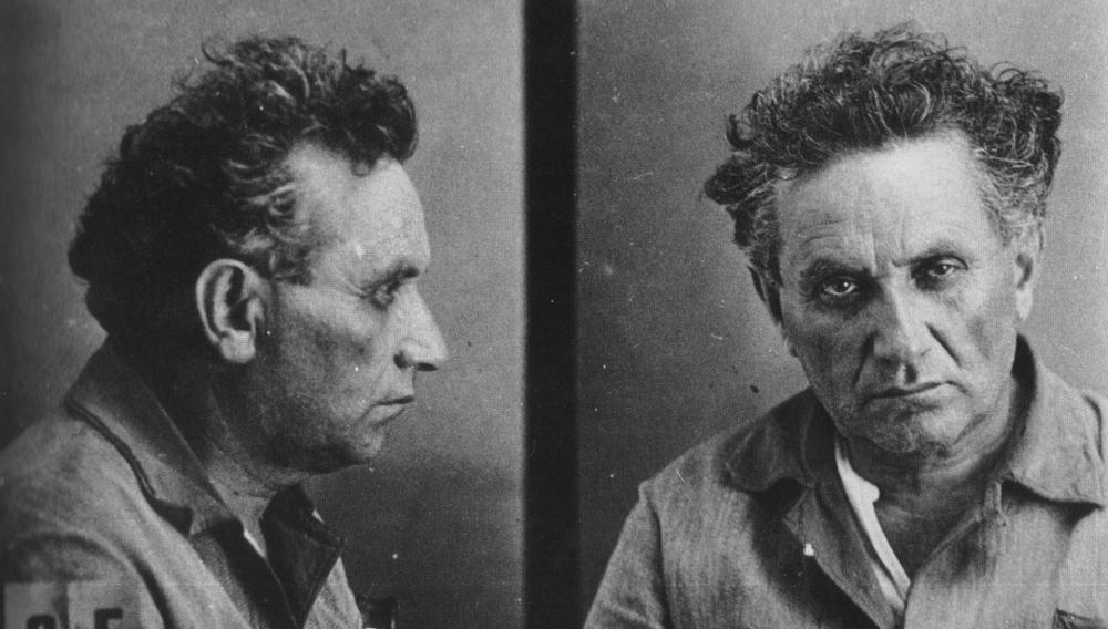 Фото Зиновьева после ареста в 1934 году.
