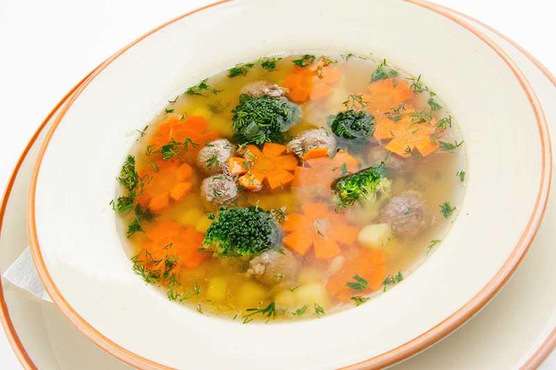 Суп «Ромашка»