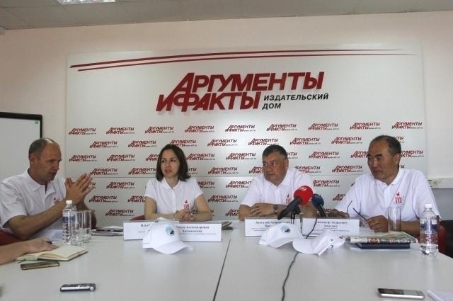 Илья Резник, Ольга Аксаментова, Анатолий Прокопьев и Александр Амагзаев.