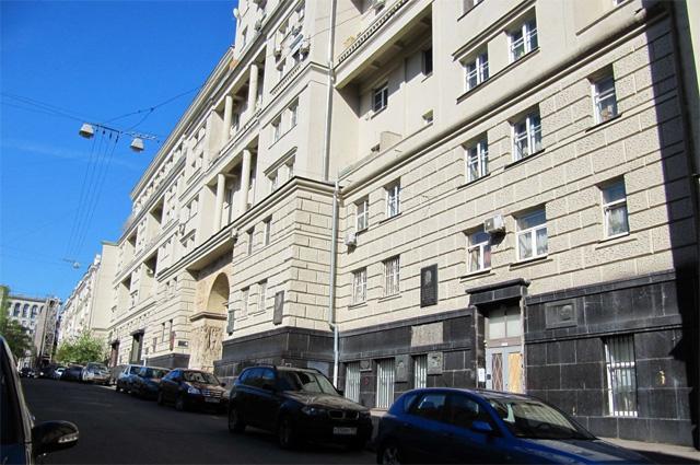 Дом актёров МХАТа в Глинищевском переулке.