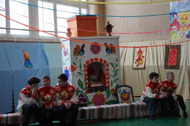 Театральная студия у ребят очень популярна.