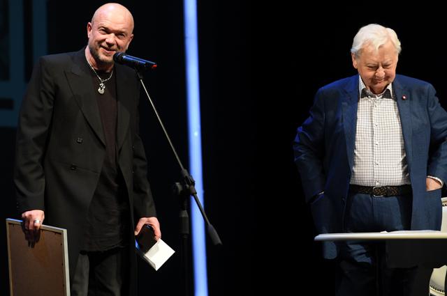 Андрей Смоляков и Олег Табаков. 2017 г.