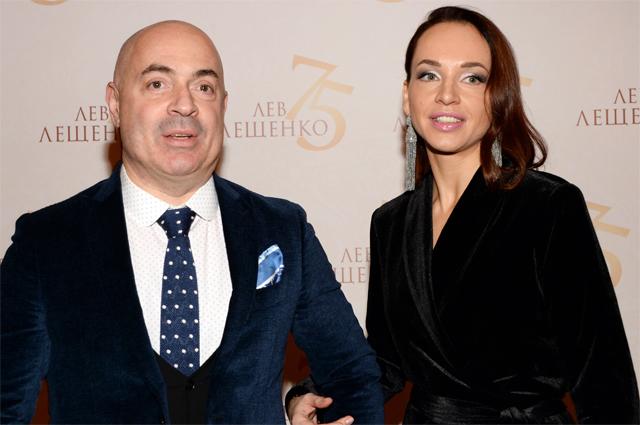 Михаил Грушевский с женой.