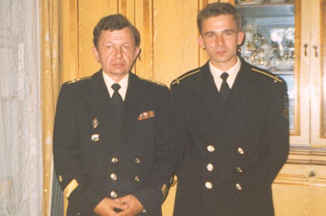 Сергей Кокурин - старший и Сергей Кокурин - младший.