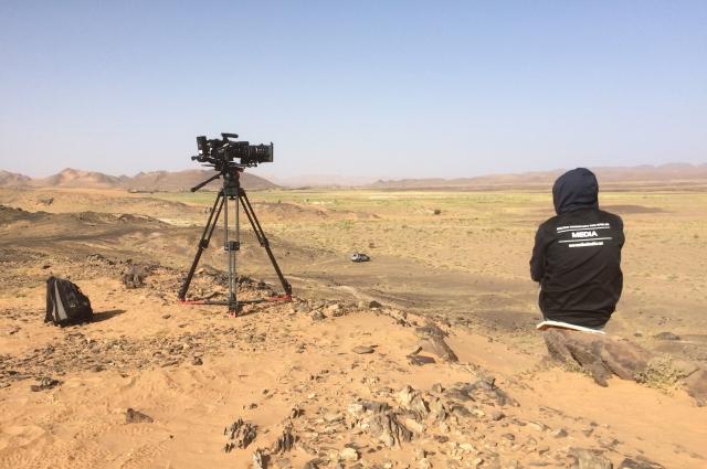 Алексей Романов: Снимал даже в Африке – фильм «Бегущие вместе» о супермарафоне, который французы организуют в пустыне Сахара.