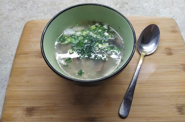 Суп легкий - поможет желудку разгрузиться.