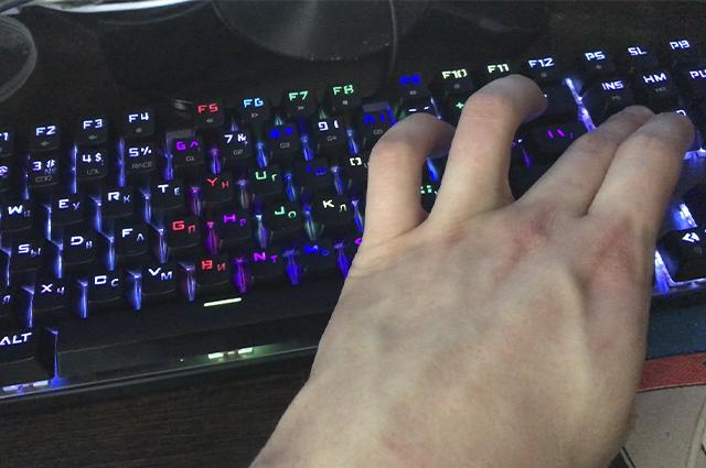 Сверкающая клавиатура придаст динамики игре.
