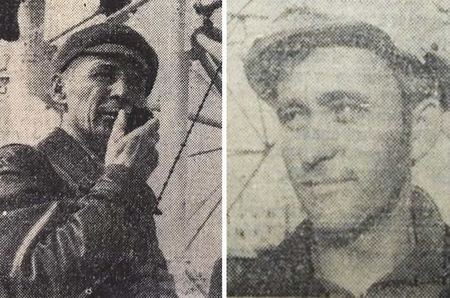 Н.Н.Бабинцев и Н.Быкадоров