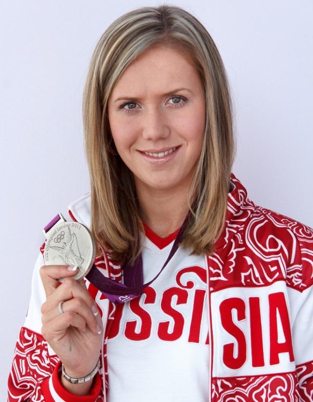 На прошлой Олимпиаде Анастасия - тогда еще Зуева - завоевала серебряную медаль.