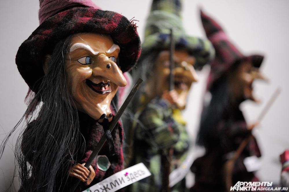 Куклы из Скандинавии.
