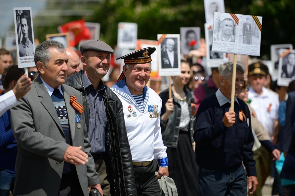 27 тысяч майкопчан приняли участие в патриотической акции в 2017 году.