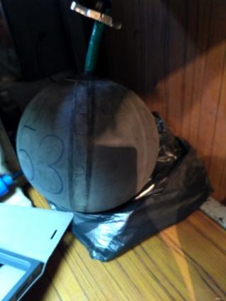 Этот мячик под номером 53 мы ещё увидим в лаборатории