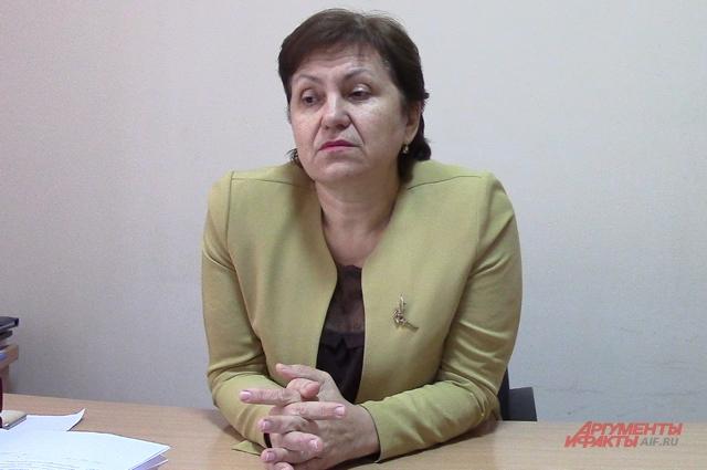 Ольга Долгошапко.
