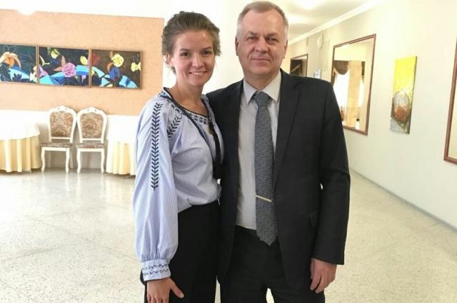 Ирина Кузнецова и Игорь Решетников.