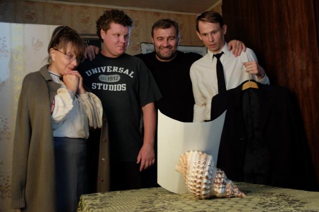 Молодым актерам нравится играть вместе в Пореченковым.