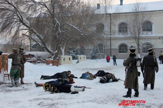 События Отечественной войны 1812 года реконструировали во дворе Нацмузея РТ.