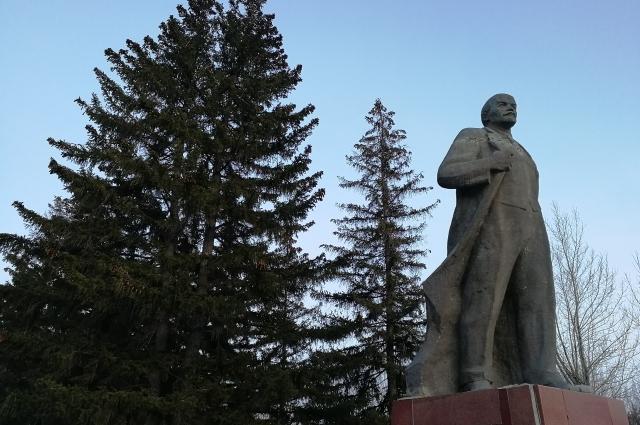 Ленин в Экибастузе.